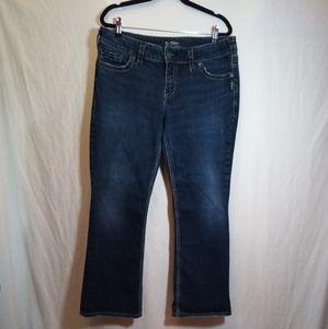 Silver Suki Mid Slim Boot Cut Jeans